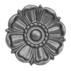 (#681) Cast Iron Decorative Rosette - SF