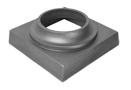 "(#6002) Decorative Cast Iron Base 5-1/2"" ID"