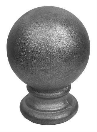 "#(9538) Cast Iron Finial Ball Top 1"""