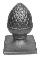 #(657-Z) Cast Iron Pineapple Top