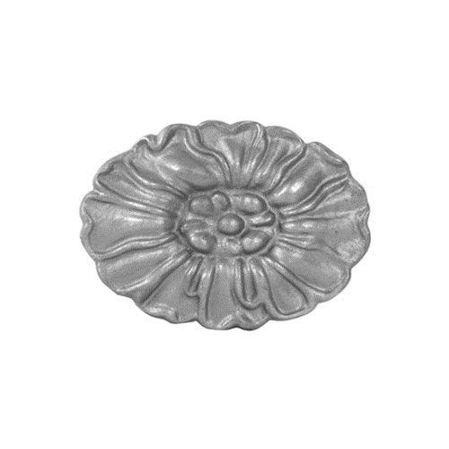 #(9461-COR) Cast Iron Oval Rossette