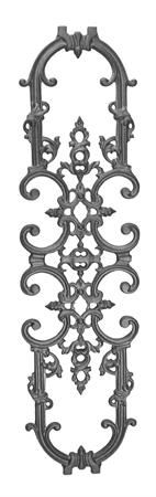 #(1335) Cast Iron Classic Railing Panel