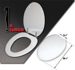 "Toilet Seat, ""il lungo"" (Elongated 18.5)"