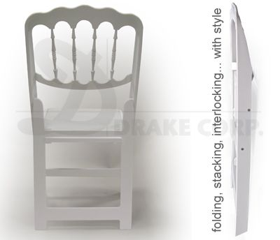Chateau Folding & Staking Resin Chair