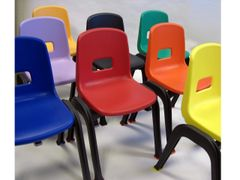 "D 130 School Chair, 12"" high"