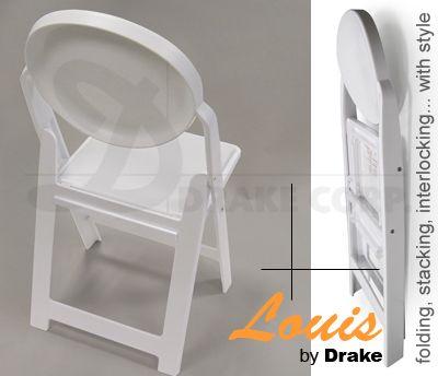 Louis Folding Stacking Chair