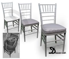 Chiavari Resin Stacking Chair