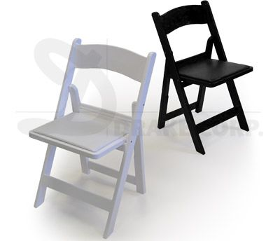 Chip Folding Chairs - Stacking