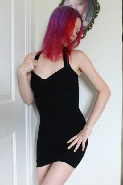 Black Tight Party Dress