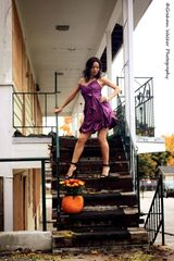 Beautiful Purple Cocktail Dress