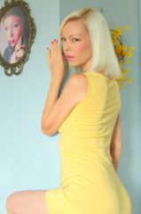 Yellow Pre-Owned Summer Dress