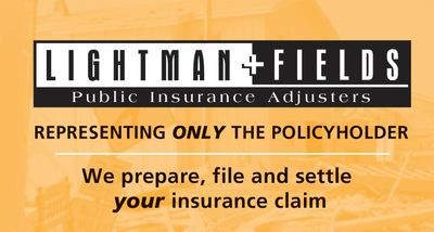 Public Insurance Adjuster Insurance claims