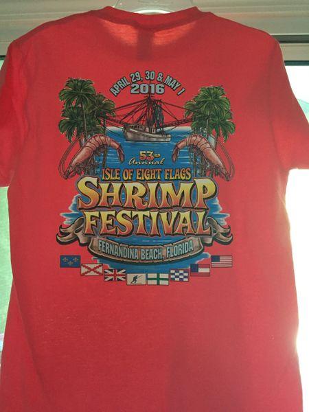 2016 Shrimp Festival Unisex Tshirts
