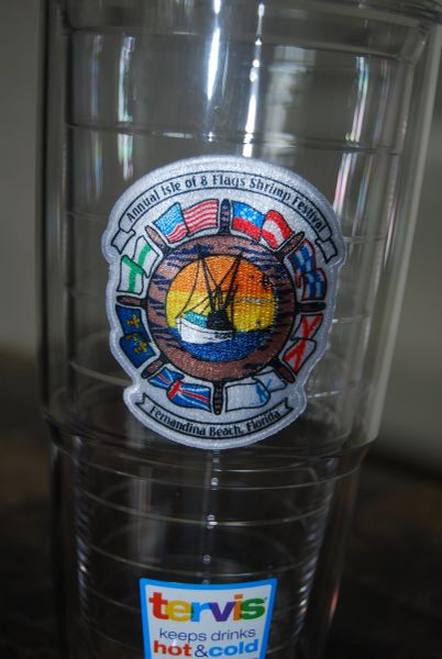 "Official Tervis ""Ship's Wheel"" Tumbler"