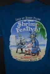 2017 Shrimp Festival Unisex Tshrits