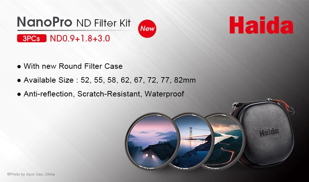 Haida Filters NanoPro ND Kit - Perfect for Landscapes