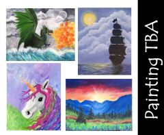 Acrylic Painting Workshop - December 4 - 3:30PM