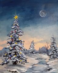 Acrylic Painting Workshop - December 18 - 3:30PM