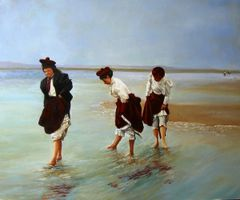 Women Wading