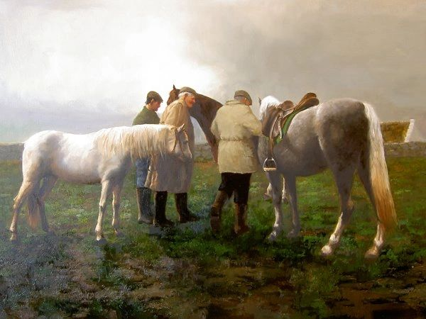 Showing the Horses