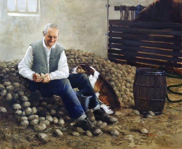 Sorting Seed Potatoes