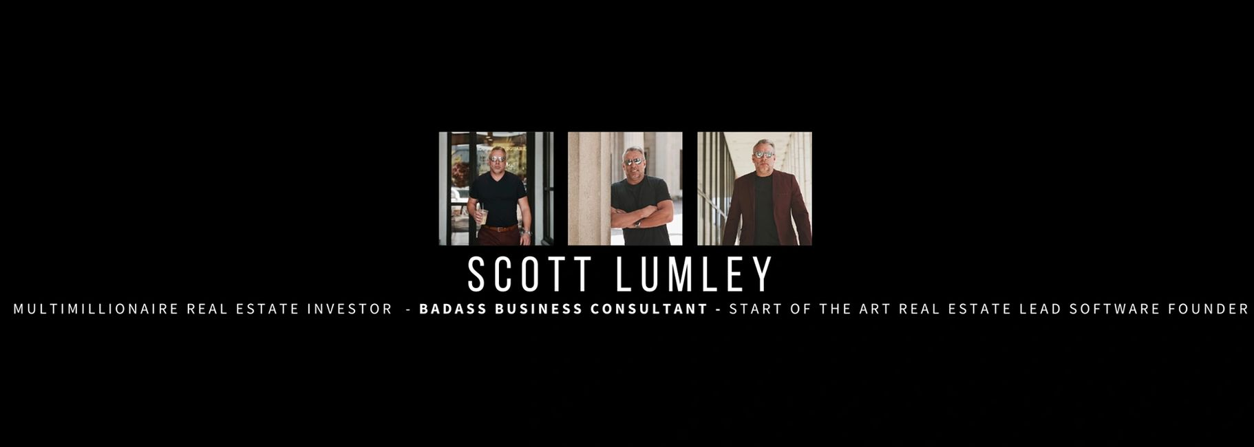 Scott Lumley business consultant and Real Estate Expert