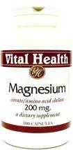 Magnesium Chelate/Citrate 250 Vegetarian Capsules