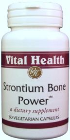 Strontium Bone Power 60 Vegetarian Caps