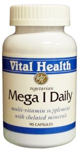 Mega 1 Daily (with Iron) 90 Vegetarian Caps