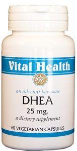 DHEA (Dehydroepiandrosterone) 25 mg 60 Vegetarian Capsules