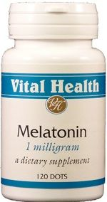 Melatonin 1mg 120 Sublingual Dots