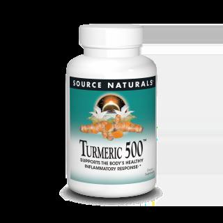 Turmeric w/Black Pepper 60 tabs - Source Naturals