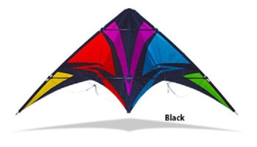 Thunderstruck Black by SkyDog Kites