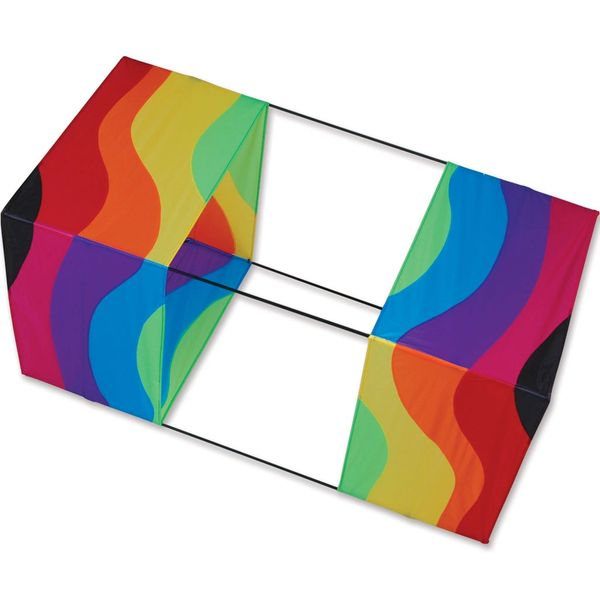 40 in. Box Kite - Wavy Rainbow by Premier