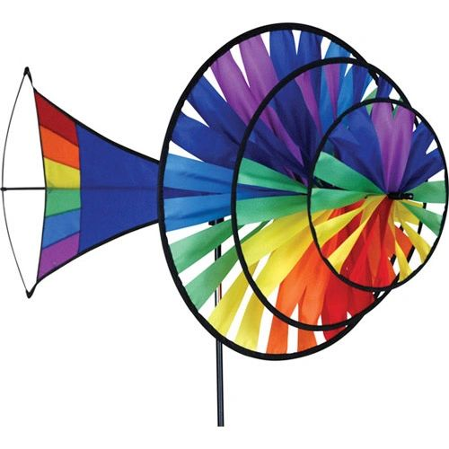 Large Rainbow Triple Spinner by Premier