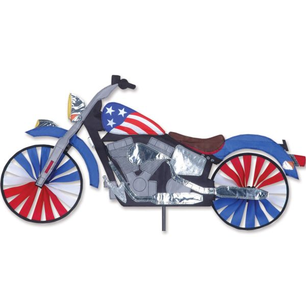 "Motorcycle Spinner 32"" - Patriotic by Premier"
