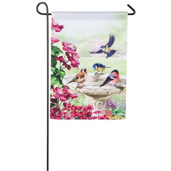 Garden Birds Garden Flag