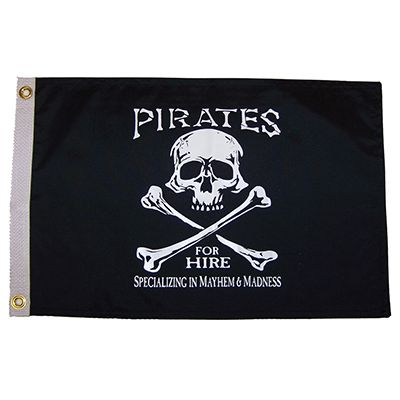 Pirates For Hire Flag