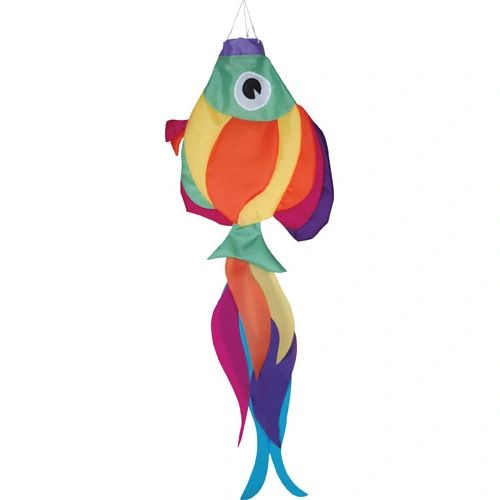 Rainbow Fish Windsock by Premier