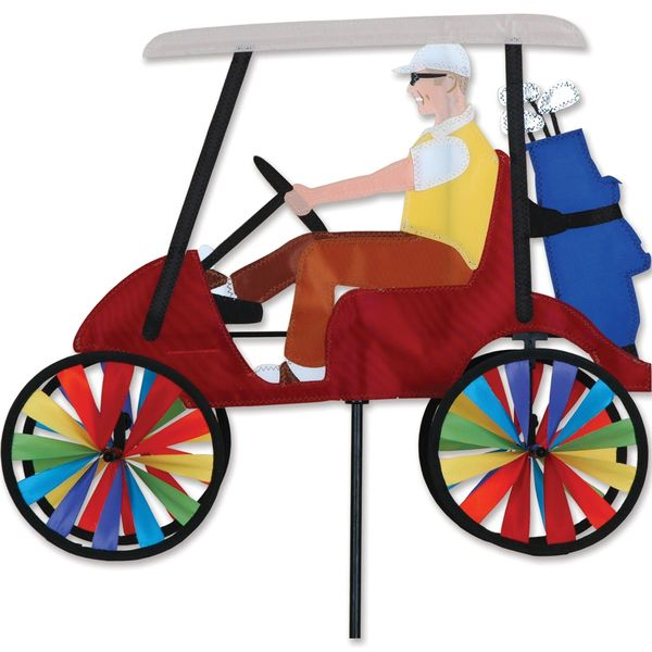 Golf Cart Red Spinner by Premier