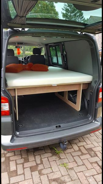 kombi bed offer just bed and mattress for vw t5 lwb and swb