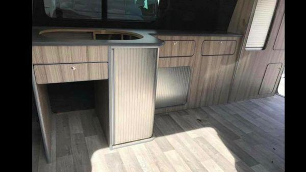 infinity premium slimline 130 kitchen Transporter t5-t6 lwb only