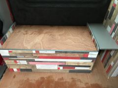easy slide pull out seat bed