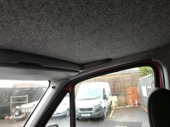 vw crafter , mercedes sprinter cab headline shelf