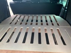 t5-t6 kombi click bed for behind the seats of a lwb without needing to fold them