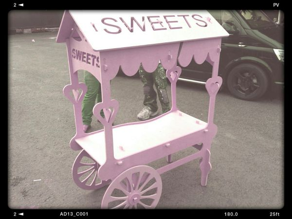click together sweet cart