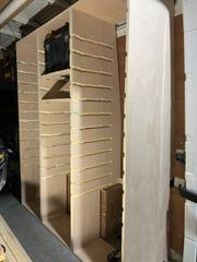 150cm high racking modules