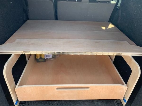 kombi bed drawer line system