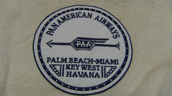 Pan American Airways 1927 Logo patch