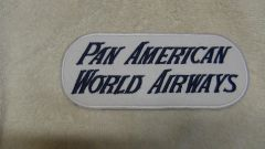 Pan American Airways 1950's back patch